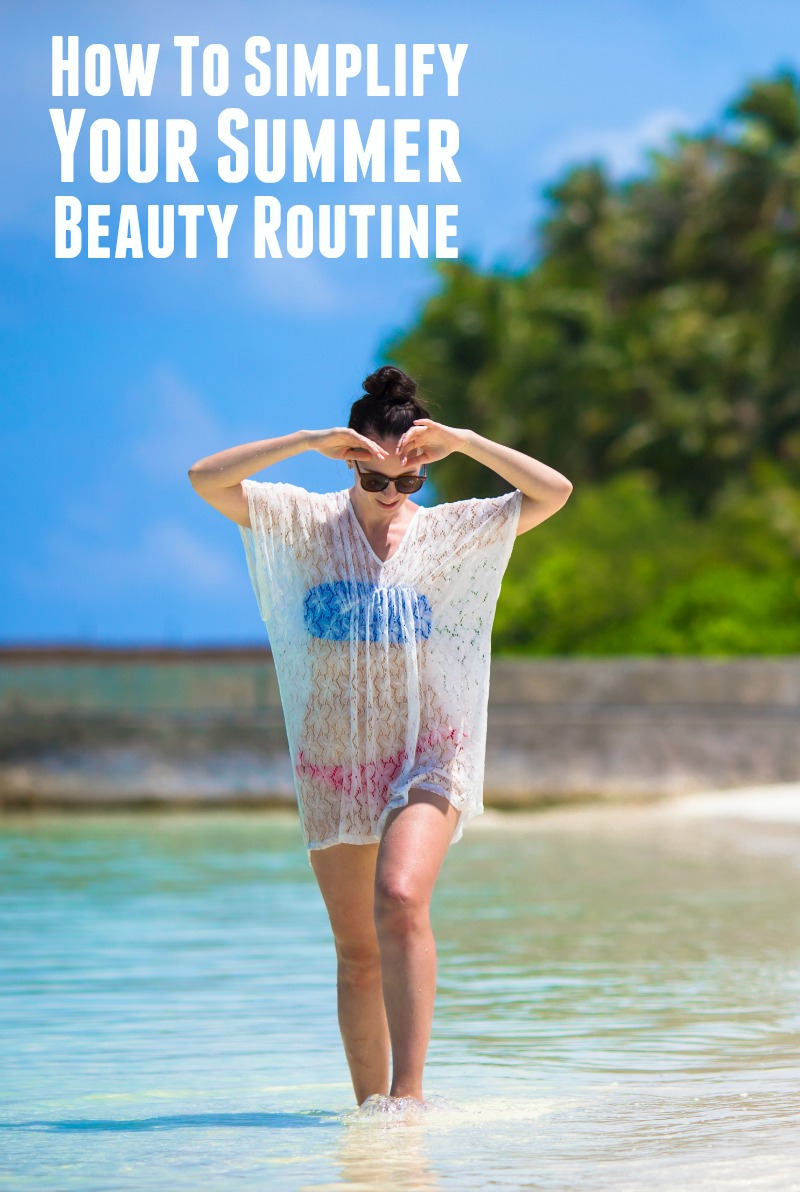 How to simplify your summer beauty routine