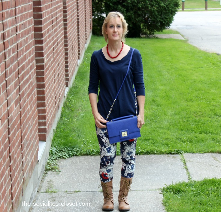 My Style: Colorful Florals & Bright Blues