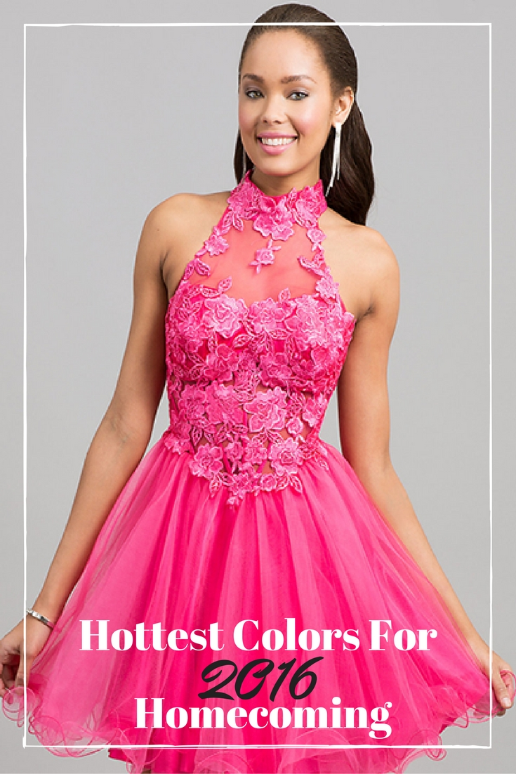 Hottest Colors for 2016 Homecoming Year