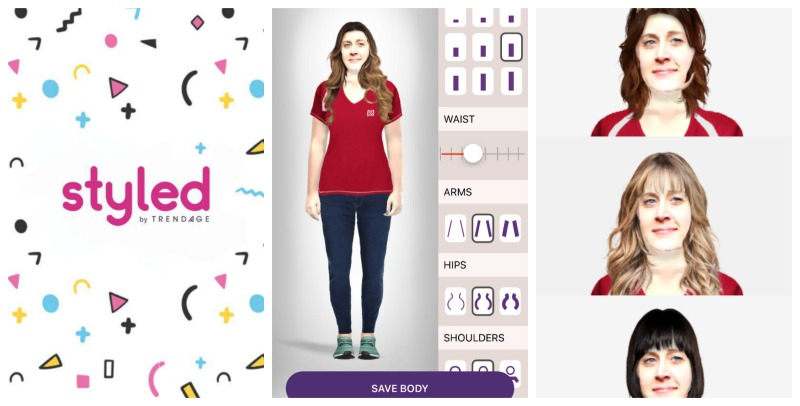 How to Use the Styled by Trendage App for Virtual Looks