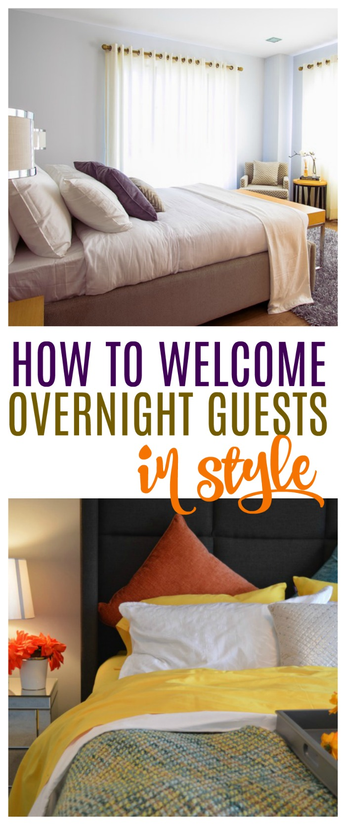 Welcoming Overnight Guests to Your Home in Style